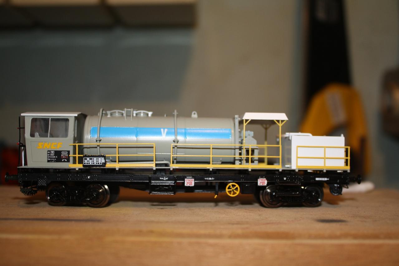 Wagon deherbeur SMD